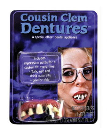 Cousin teeth of acrylic