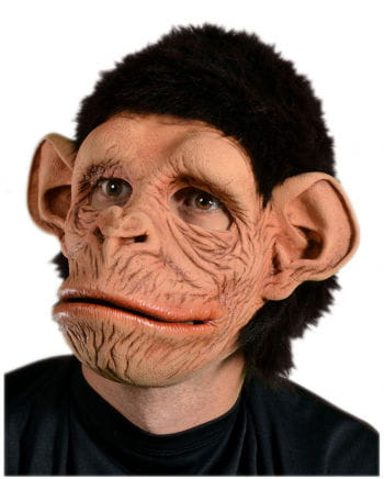 Monkey mask with synthetic fur