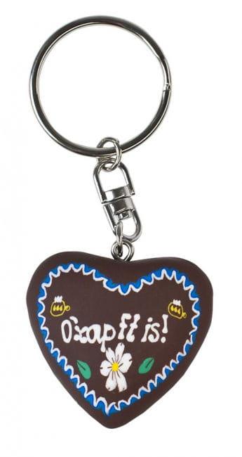 Schlüsselanhänger mit bayrischem Herz