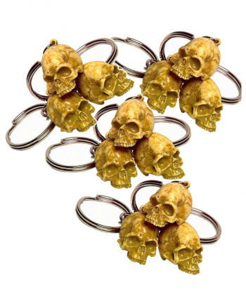 Key Chains Rotten Skull