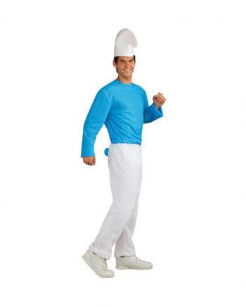 Schlumpf Erwachsenen Kostüm XL