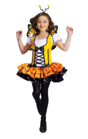 Butterfly Child Costume Yellow