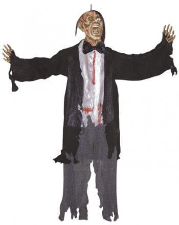Screaming Zombie Hanging Figure