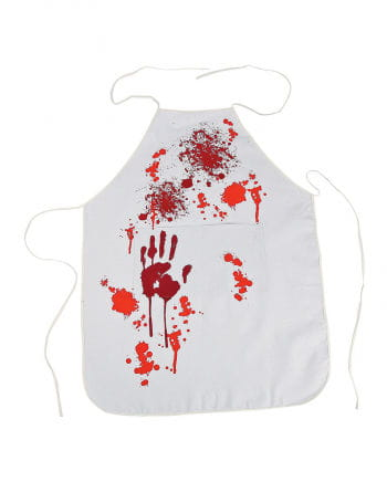 Apron with blood spatter