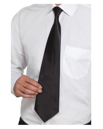 Black Gangster Tie Deluxe