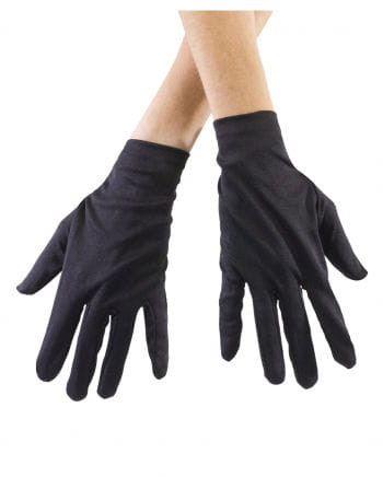 Black gloves for children