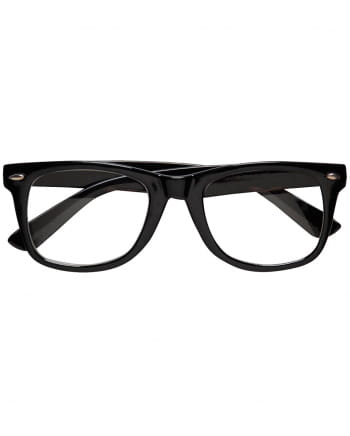 Black Nerd Glasses Without Glasses