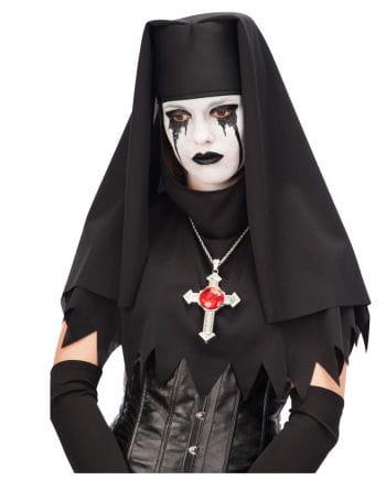 Klosterschwester Kopfbedeckung