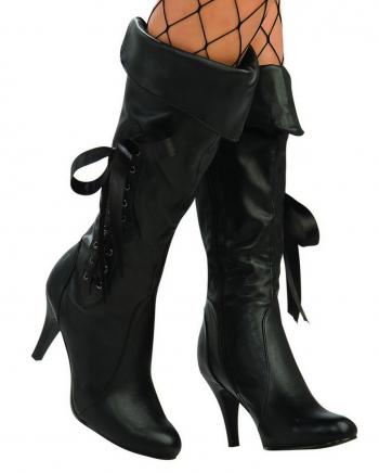 Black Pirate Ladies Boots