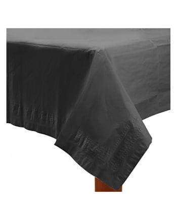 Schwarze Tischdecke 1,37 x 2,74 m