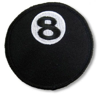 Black 8 Patches