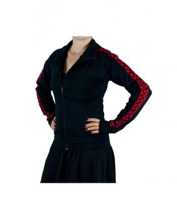 Black Sweatshirt Gothic Jacket