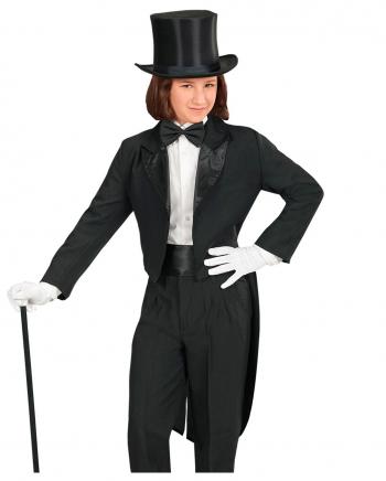 Black Tailcoat Child Costume