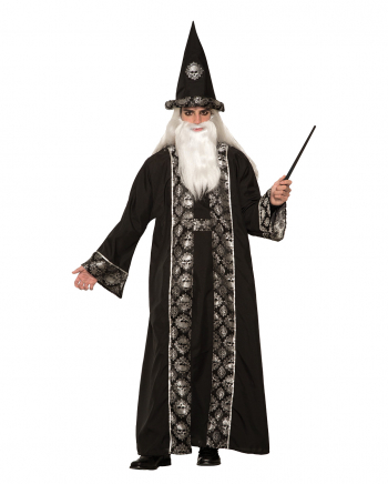 Black Warlock Costume For Adults