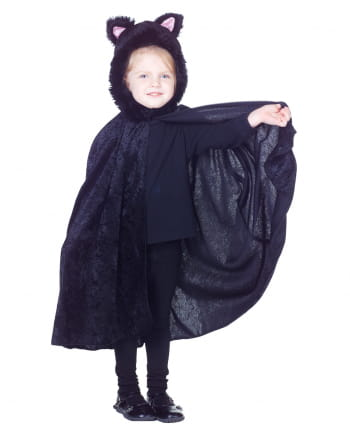 Kids cape black cat