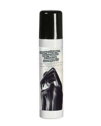 Black UV Spray For The Body 75 Ml