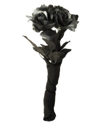 Schwarzer Rosenstrauß