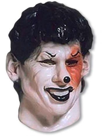Schwarzer Joker Foamlatex Maske