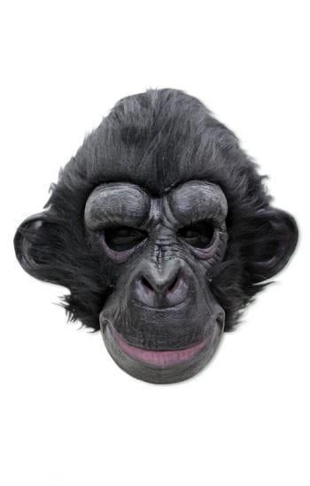 Dunkler Schimpanse Maske