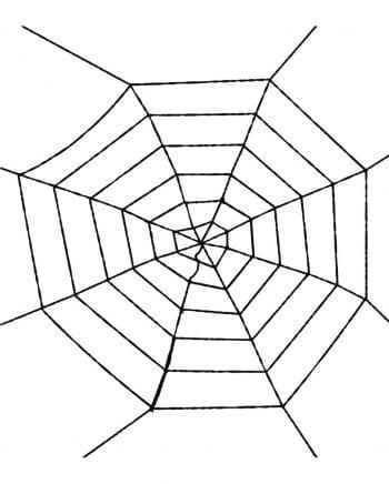 Spinnennetz schwarz 100cm