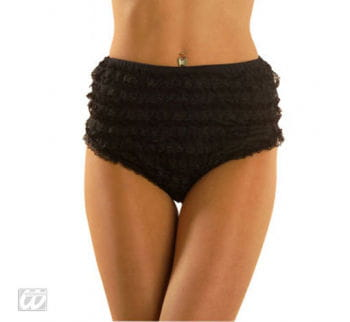 Black Lace Crotch S / 36