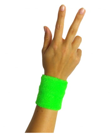 Sweat Wristband Neon Green