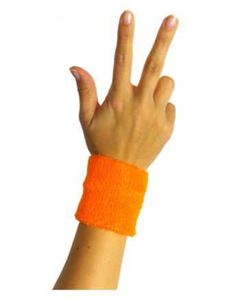 Neonoranges Schweiß-Armband