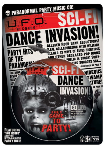 Halloween CD Sci-Fi Dance Invasion