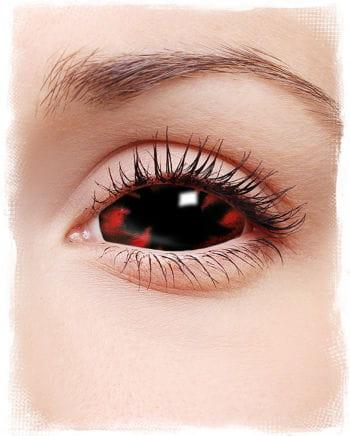 Sclera contact lenses flames