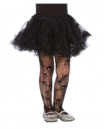 Screaming Skull Pantyhose For Kids