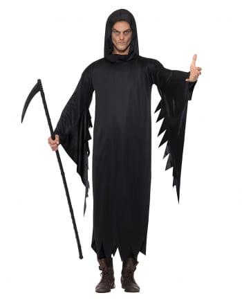 Schwarzes Gevatter Tod Kostüm