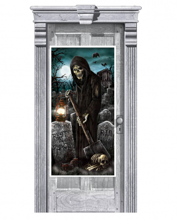 Grim Reaper Door Decoration 165 Cm