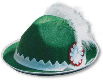 Traditional Bavarian Hat Green
