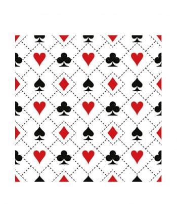 Servietten Poker Party 20 St.