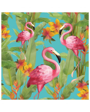 Napkins Flamingo colorful 20 pcs.