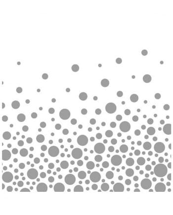Napkins silver dots 20 pcs.