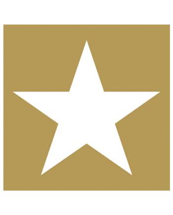 Napkins star gold-white 20 pc.