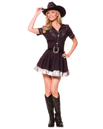 Cowgirl costume with cowboy hat