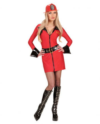 Sexy Firefighter Girl Costume 42/44