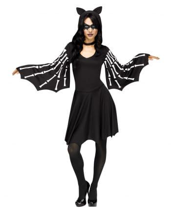 Sexy Bat Skeleton Costume