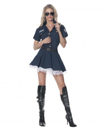 Sexy Gefängniswärterin Kostüm Gr. S