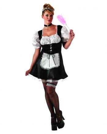 Sexy Hausmädchen Kostüm Plus Size