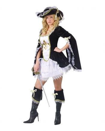 Sexy Musketier Kostüm Small Medium