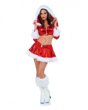 Sexy Nikolausfrau Premium Kostüm
