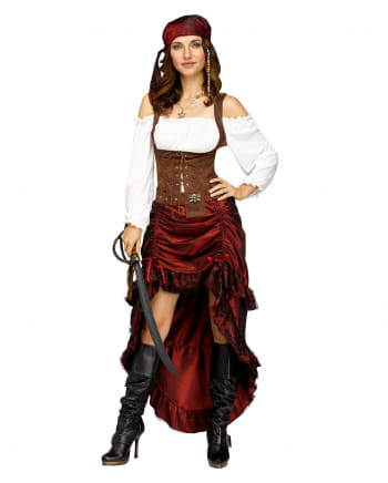 Sexy Pirate Bride Costume
