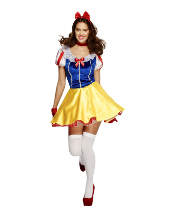 Sexy Snow White Costume With Petticoat