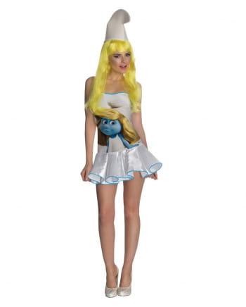Schlumpfine Kostüm-Kleid