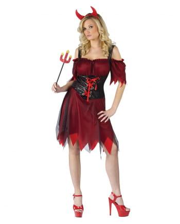 Sexy Teufelsbraut Kostüm SM