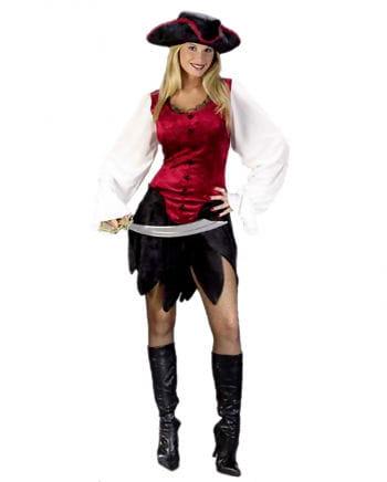 Sexy Adventure Piratenlady Kostüm Gr. 36-38 S/M