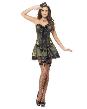 Sexy Armee Kostüm